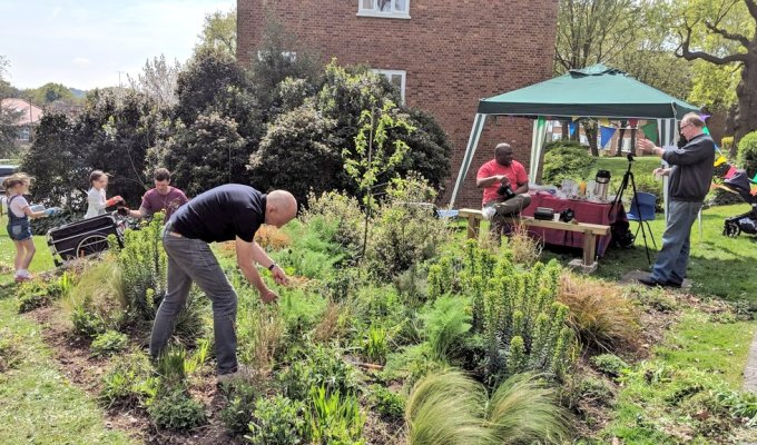 Growing communities and improving outdoor spaces on estates